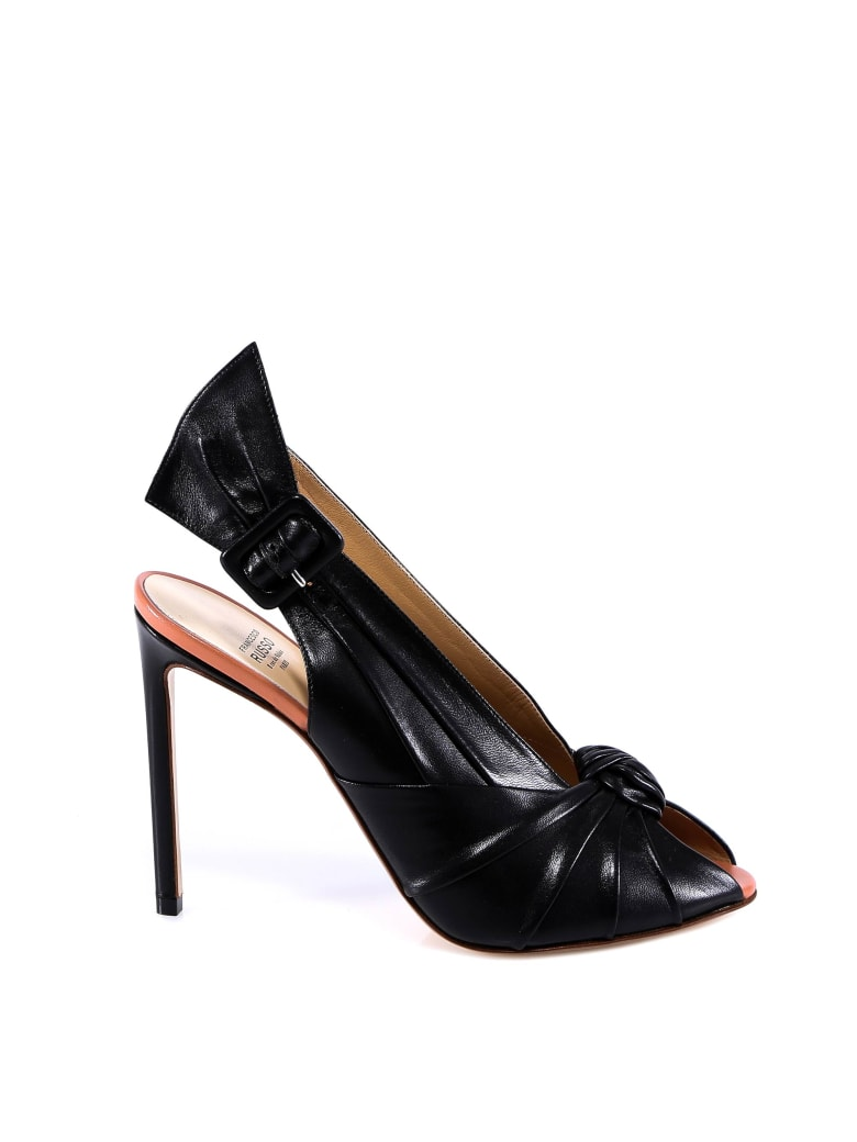 Francesco Russo Sandals - Black