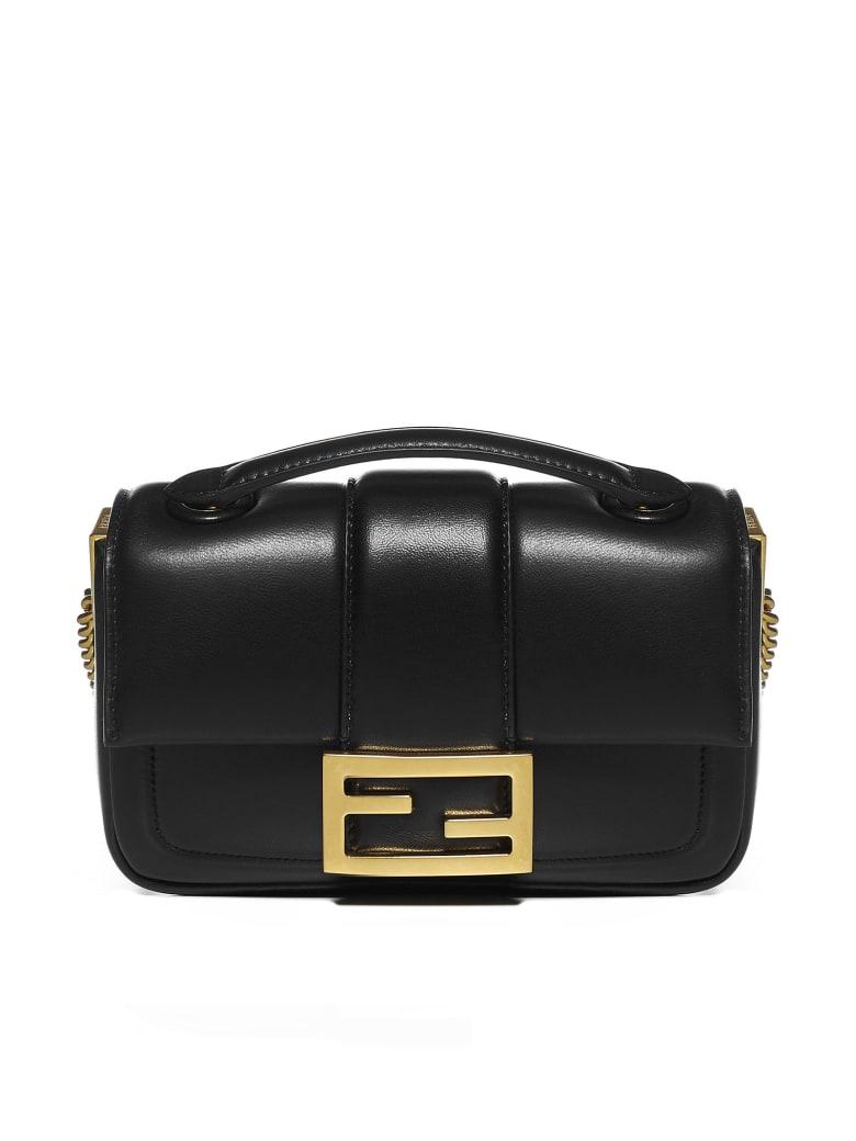 Fendi Baguette Mini Leather Bag - Nero+o.vibr