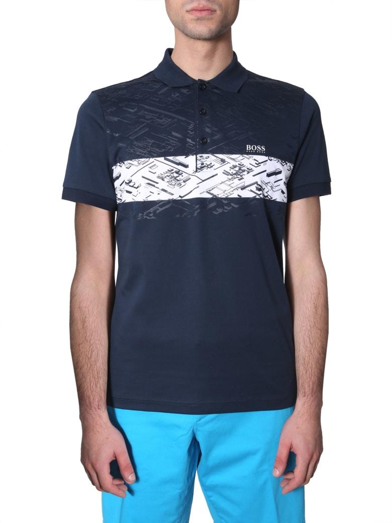 Hugo Boss Paule 5 Polo T-shirt - BLU