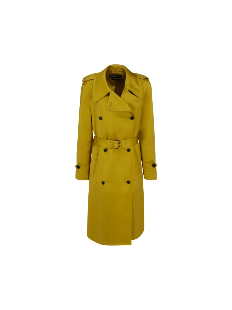 Tom Ford Trench - Charteuse citrine