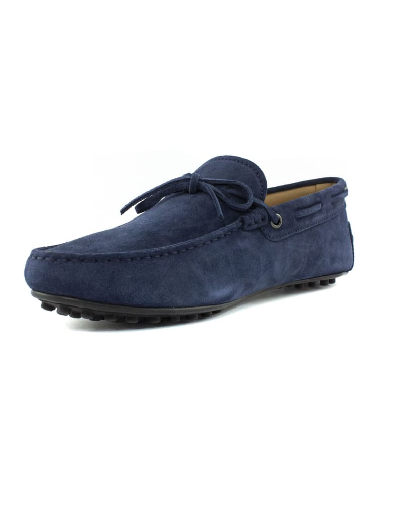 Tod's Blue Gommino Driving Shoes - Blu
