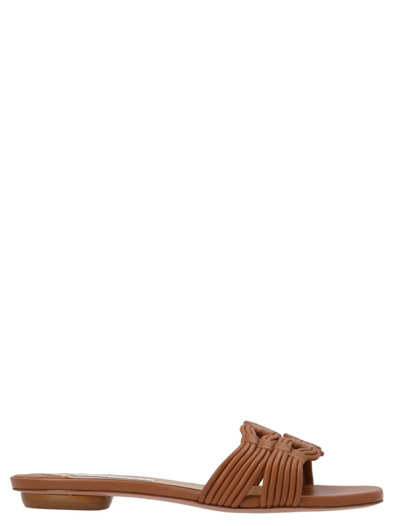 Aquazzura 'noah' Shoes - Brown