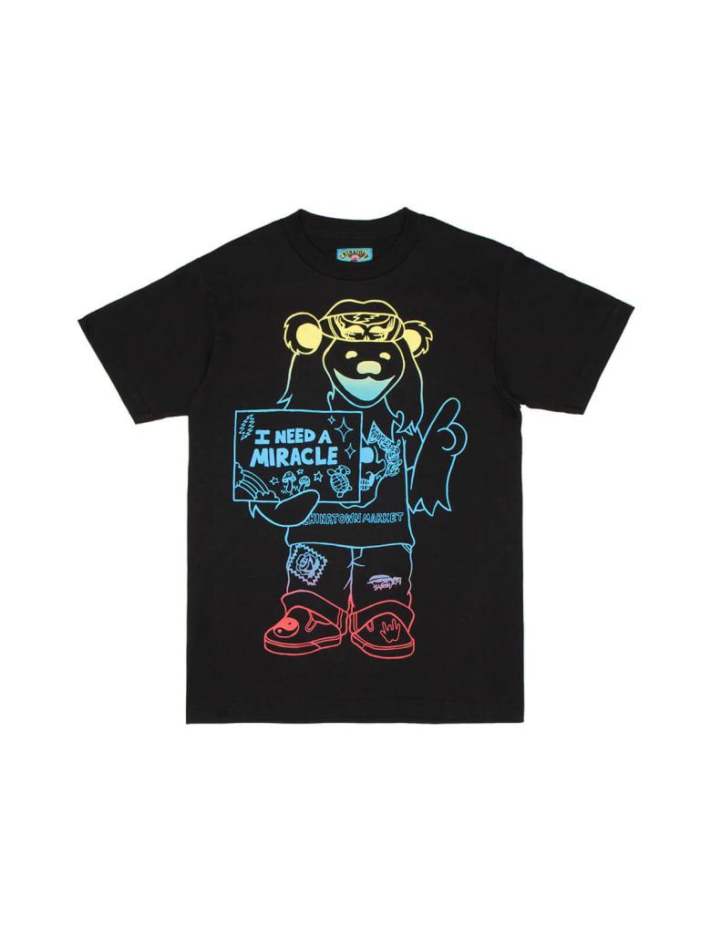 Chinatown Market Gd Miracle Hippie Gradient T-shirt - Black