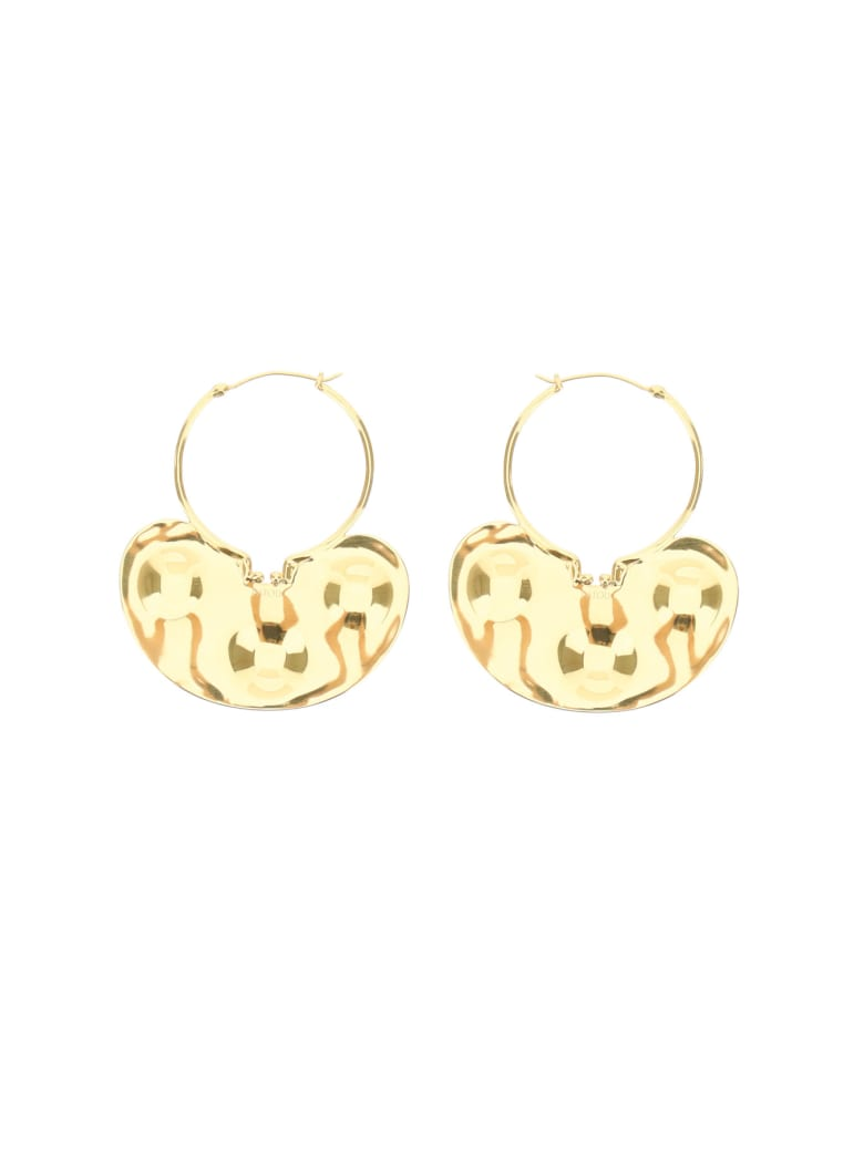 Patou Iconic Small Hoop Earrings - GOLD (Gold)