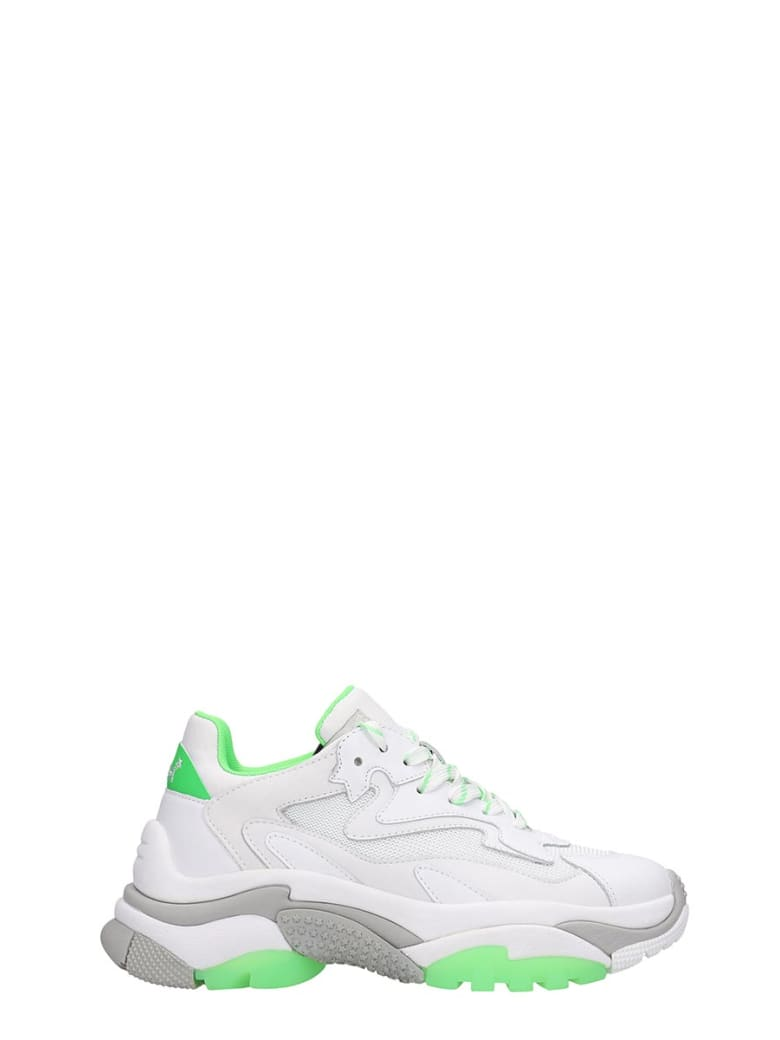 Ash Addict 04 Sneakers In White Tech/synthetic - white