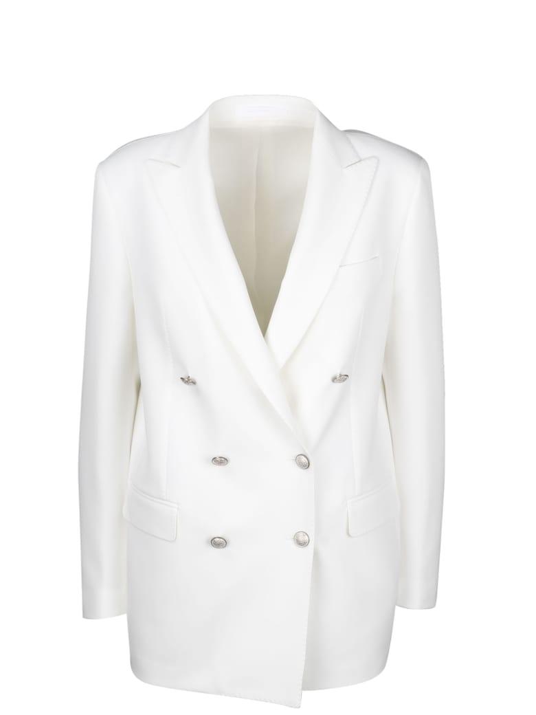 Tagliatore Jasmine Double-breasted Blazer - White