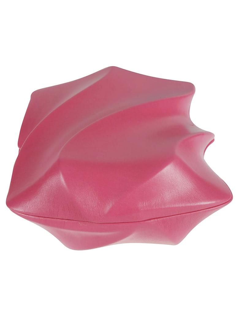 Bottega Veneta Bv Whirl Clutch - Rosa