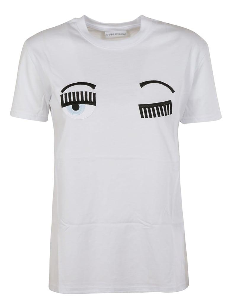 Chiara Ferragni Flirting T-shirt - white