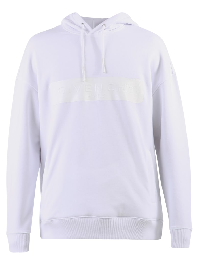 Givenchy Printed Hoodie - Bianco