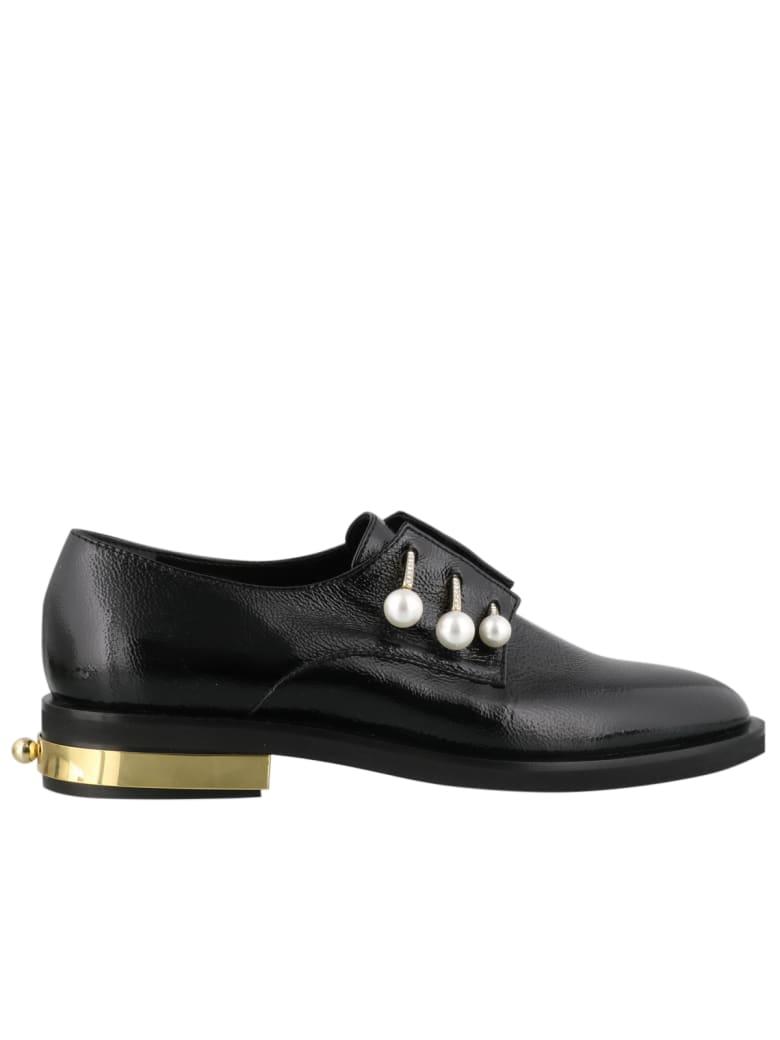Coliac Fernanda Lace Up Shoes - Black