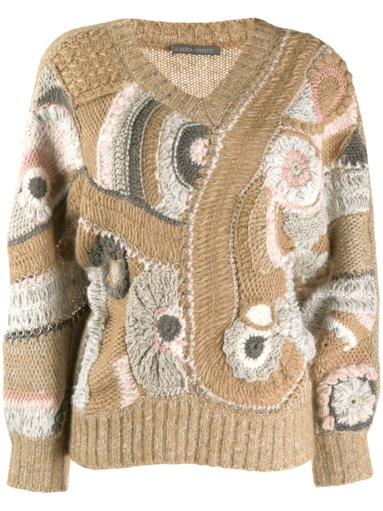 Alberta Ferretti Sweater - Brown
