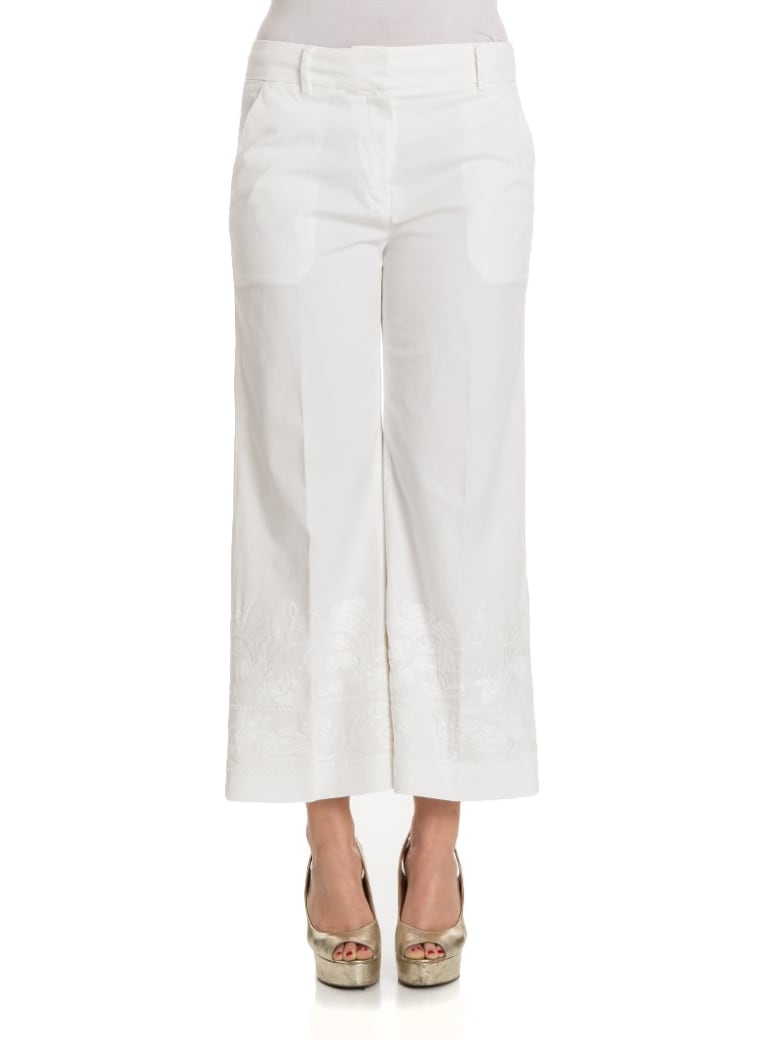 True Royal - Eva Trousers - White
