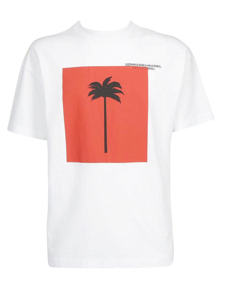 Palm Angels T-shirt - White/multicolor