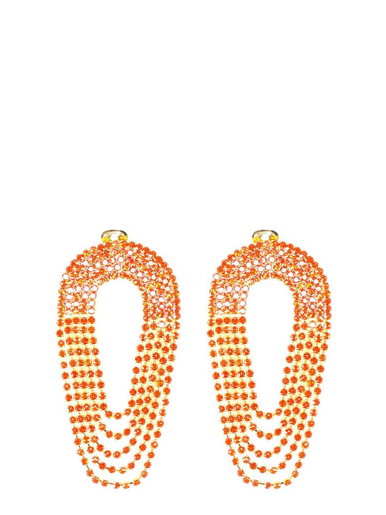 Silvia Gnecchi Liberty Earrings - Orange