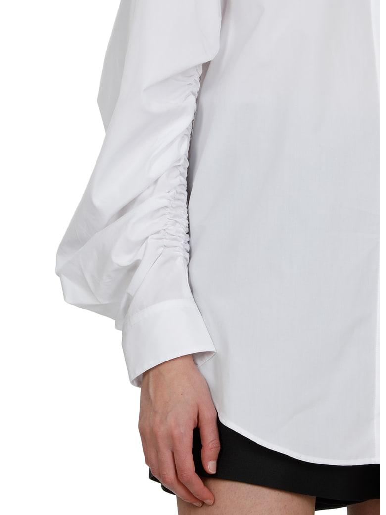 3.1 Phillip Lim Cotton Popeline Shirt - OPTIC WHITE