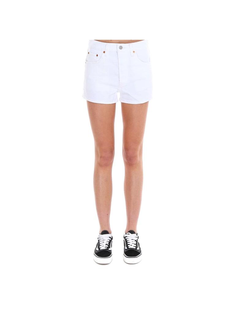 Levi's 501 Shorts - White