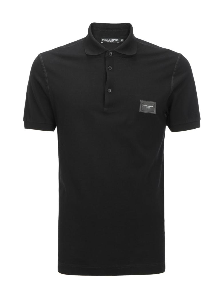 Dolce & Gabbana Polo Shirt - Nero