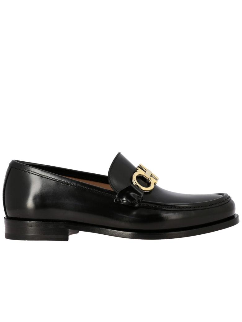 Salvatore Ferragamo Loafers Shoes Men Salvatore Ferragamo - black