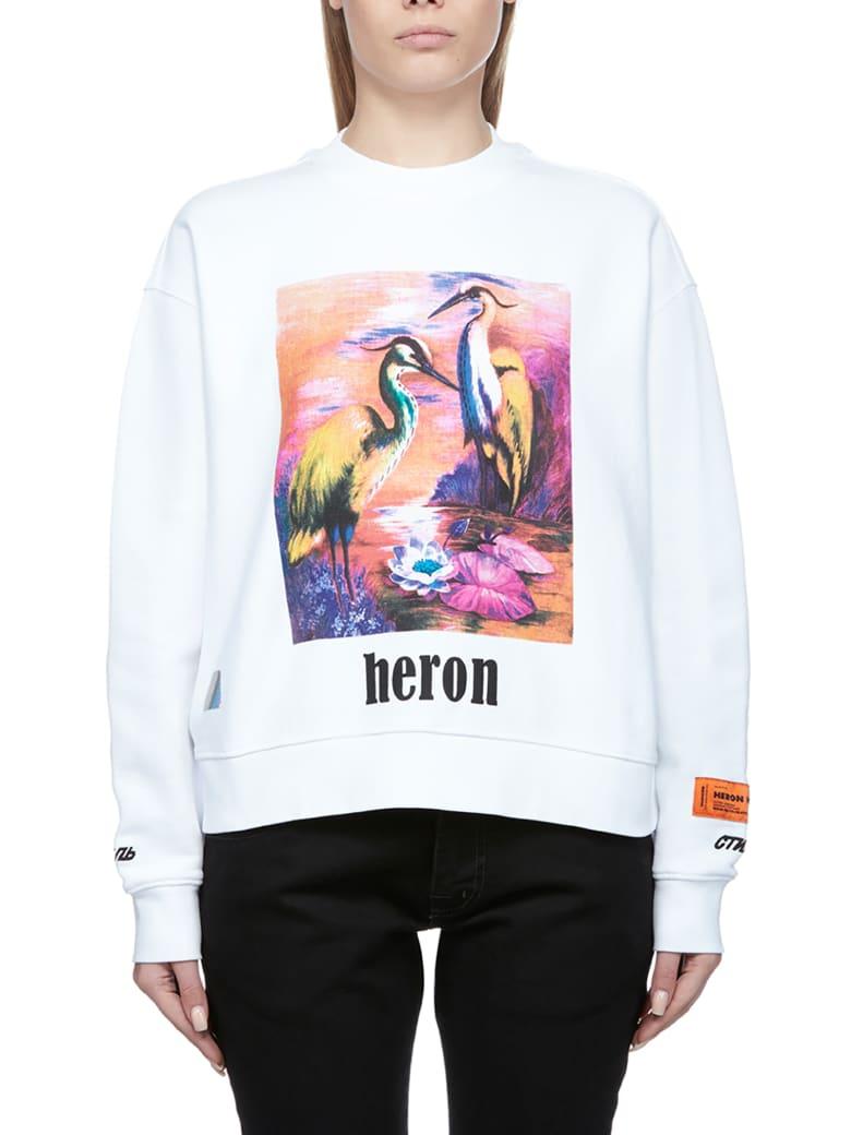 HERON PRESTON Fleece - White multi