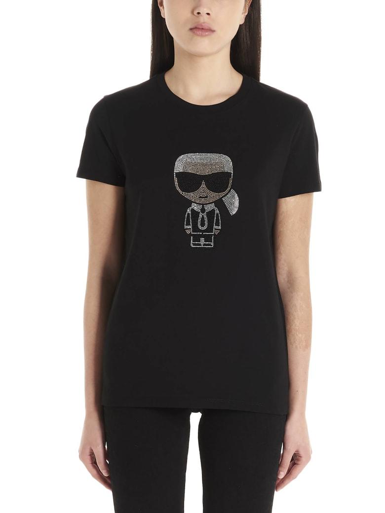 Karl Lagerfeld 'karl' T-shirt - Nero