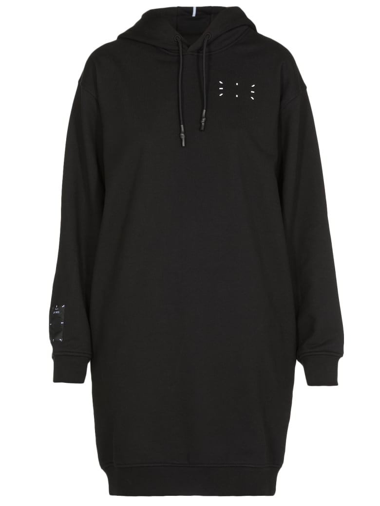 McQ Alexander McQueen Cotton Dress - Darkest Black