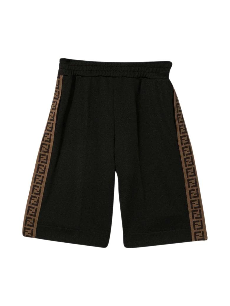 Fendi Black Shorts - Nero
