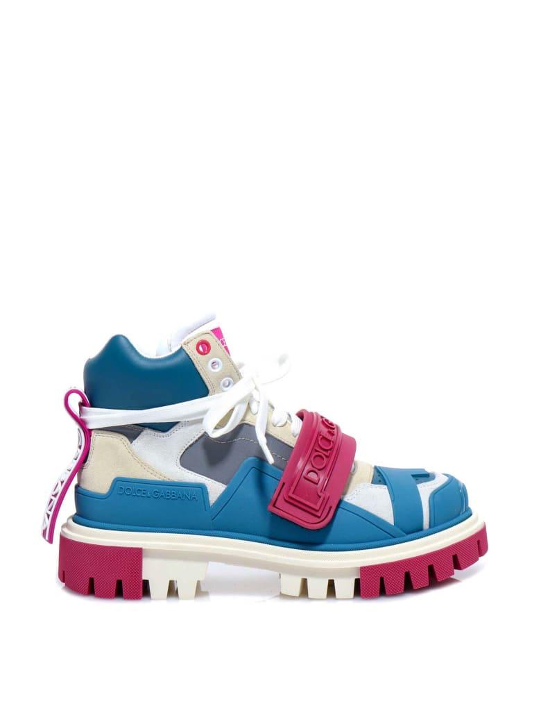 Dolce & Gabbana Trekking Boots Sneakers - Blue