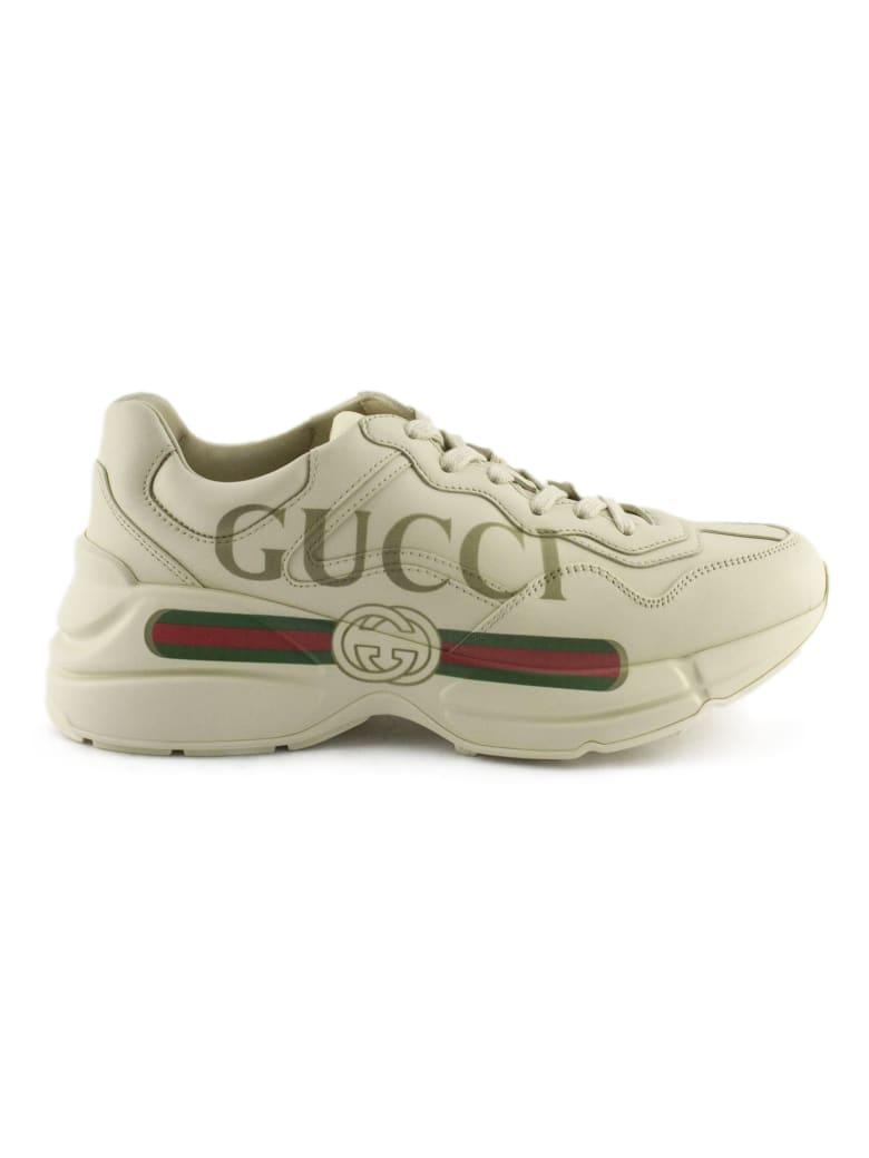 Gucci Rhyton Ivory Sneaker - Panna