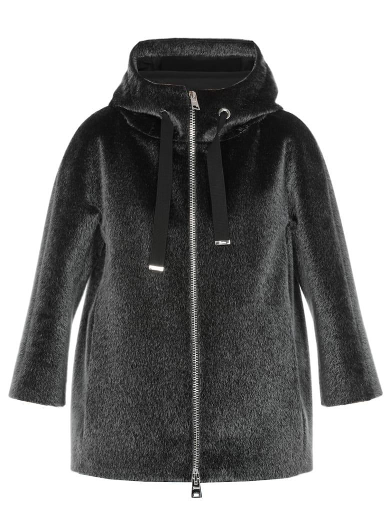 Herno Eco Fur Coat - GREY