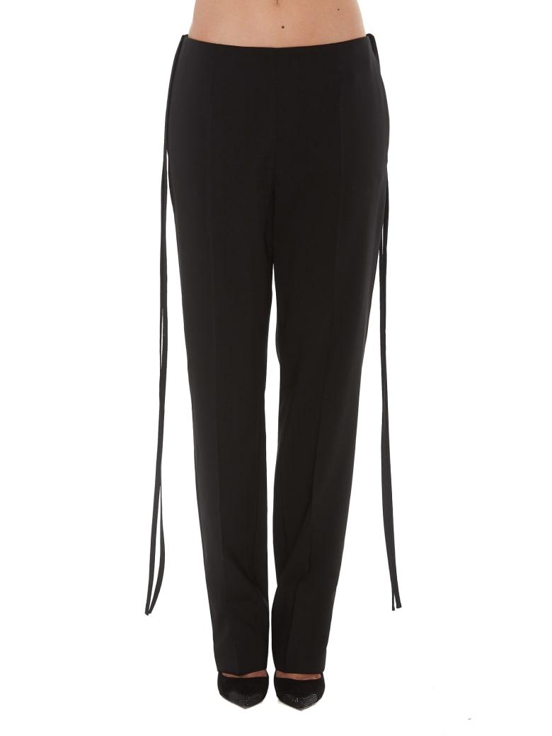 MM6 Maison Margiela Elegant Trousers - Black