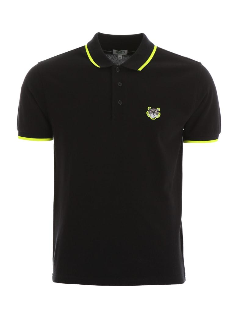 Kenzo Tiger Polo Shirt - NOIR (Black)