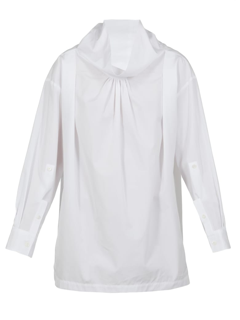 3.1 Phillip Lim Cotton Blouse - OPTIC WHITE
