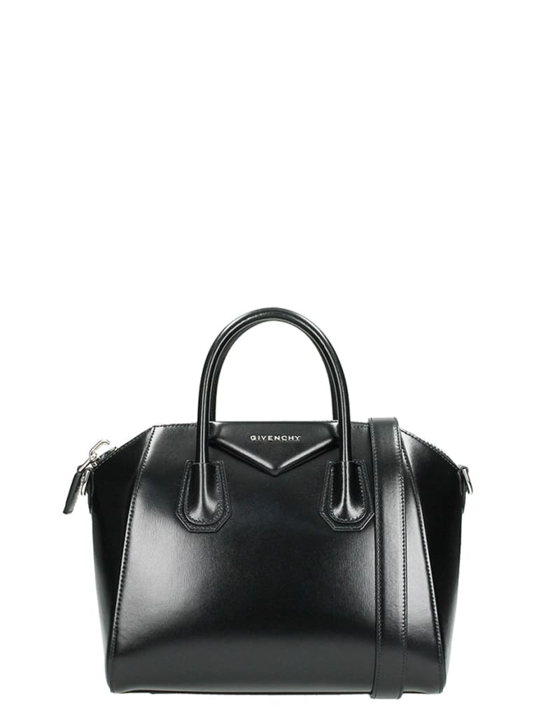 Givenchy Black Antigona Small Bag - black