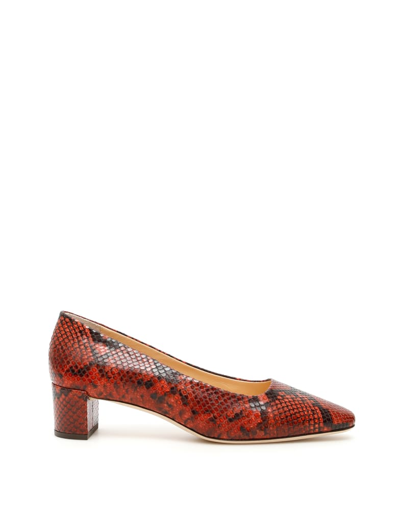 BY FAR Andrea Pumps - BURGUNDY (Red)