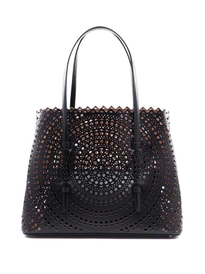 Alaia Mina Med Bag - Noir