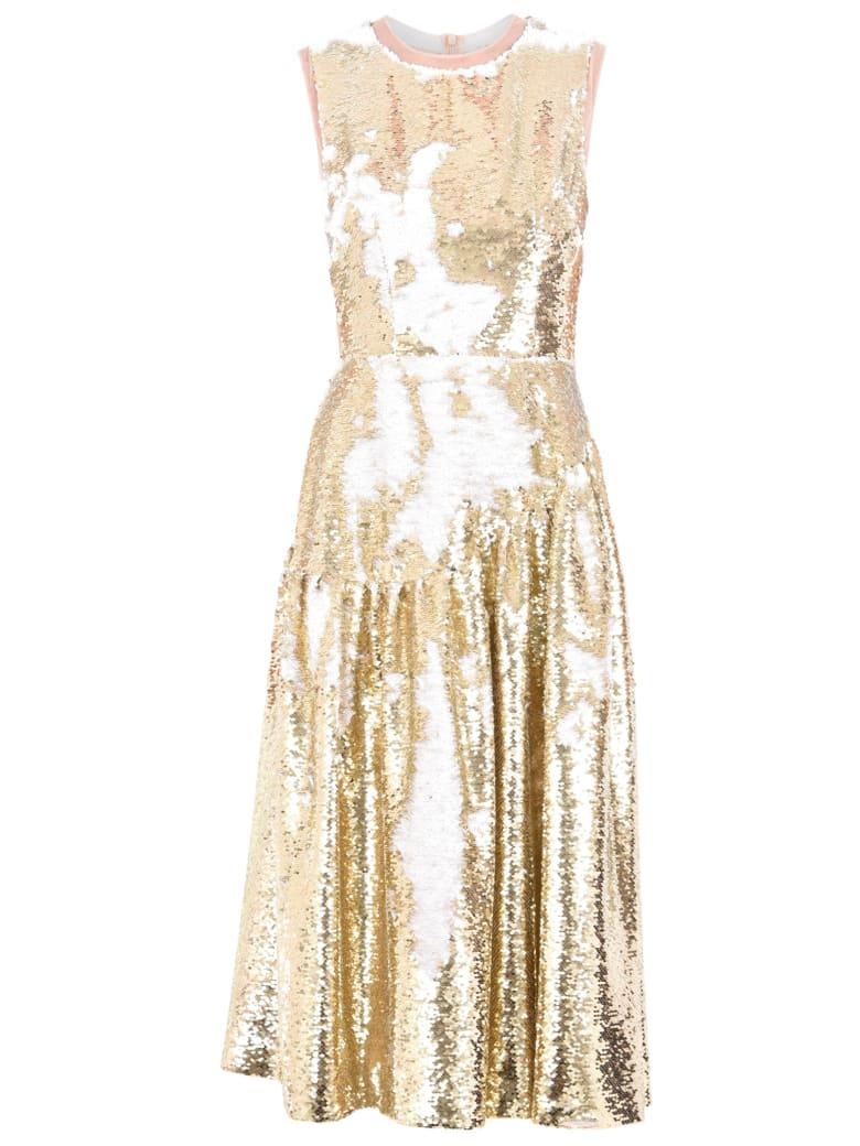 Simone Rocha Sequinned Dress - Metallic