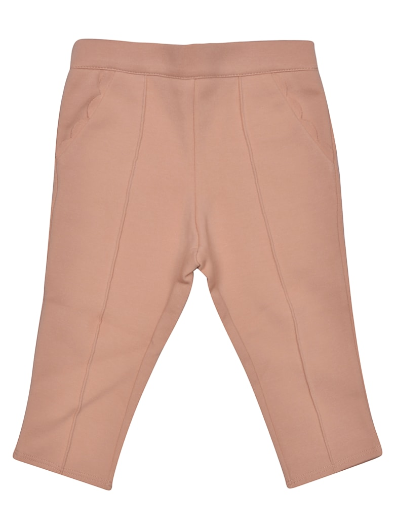Chloé Elasticated Waist Trousers - MARRONE