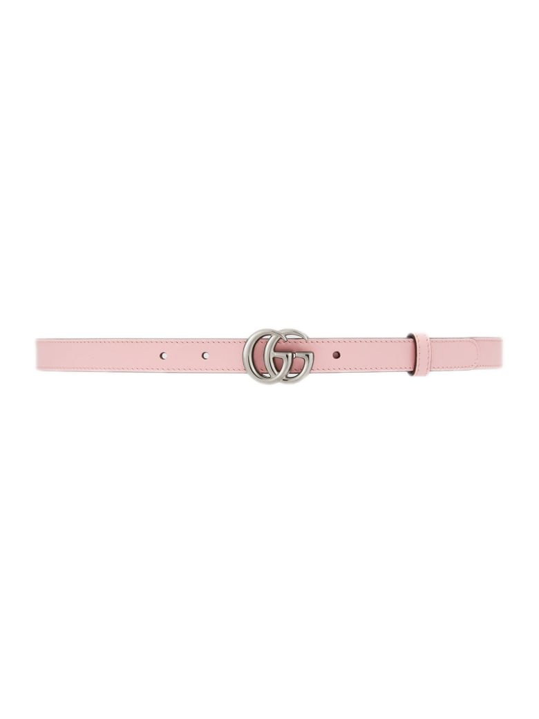 Gucci Pastel Pink Leather Belt - Rosa