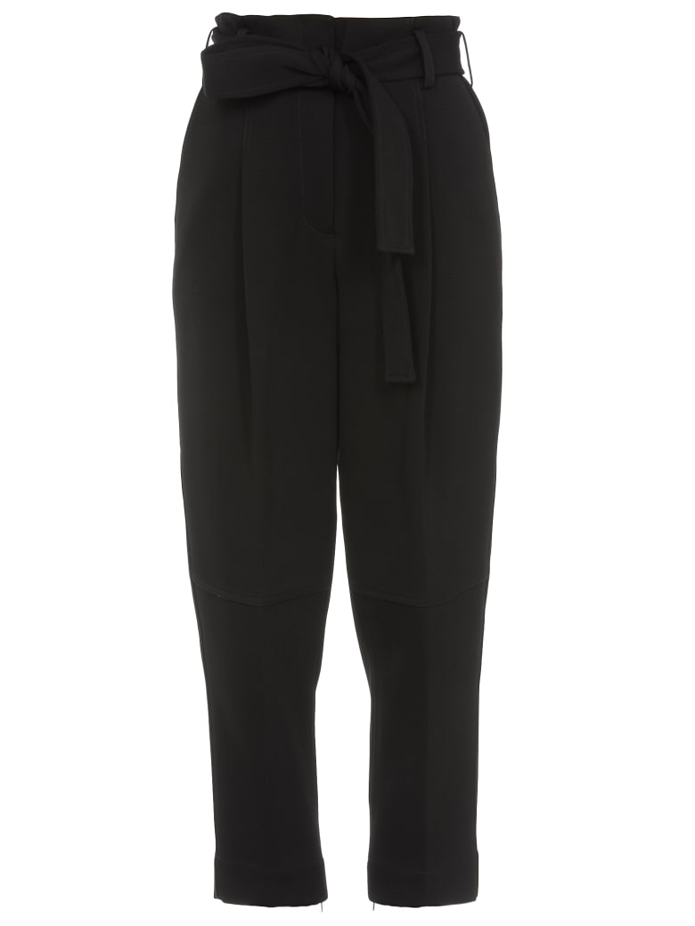 3.1 Phillip Lim Trousers With Belt - DARK MIDNIGHT