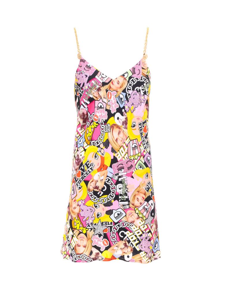 Chiara Ferragni Collage Slip Dress - Multicolor