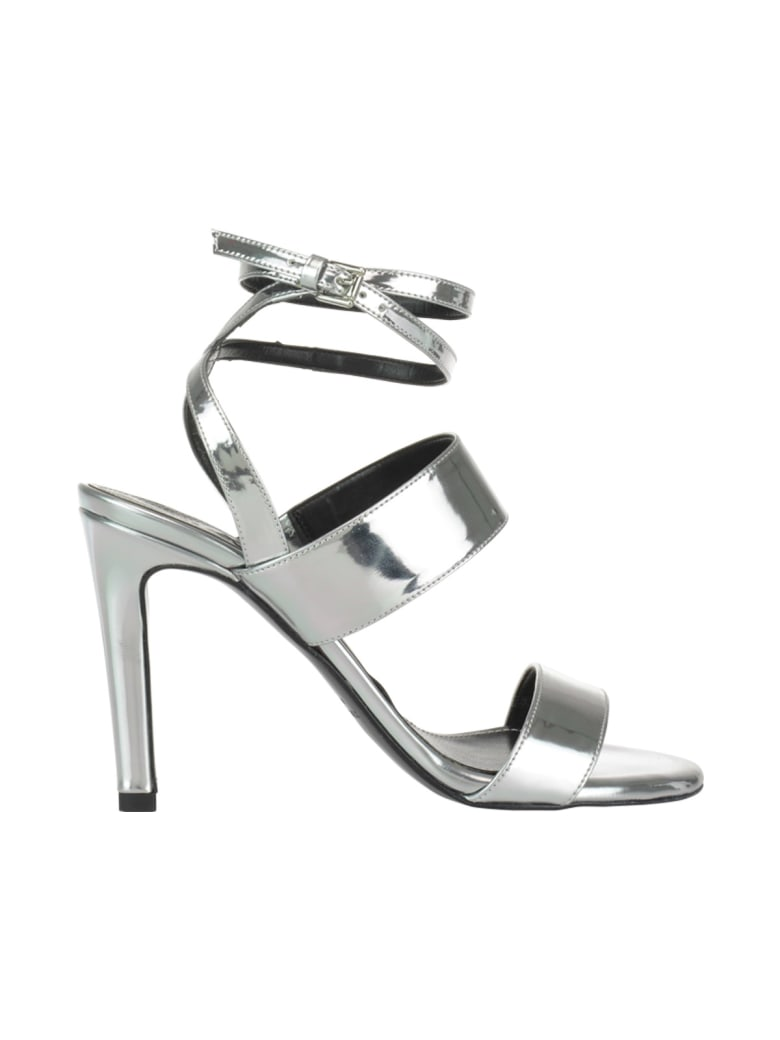 Kendall + Kylie Mikella Pump Sandals - Silver