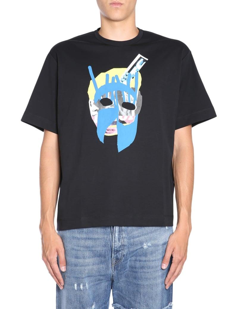 Diesel Black Gold Teorial-m10 T-shirt - NERO