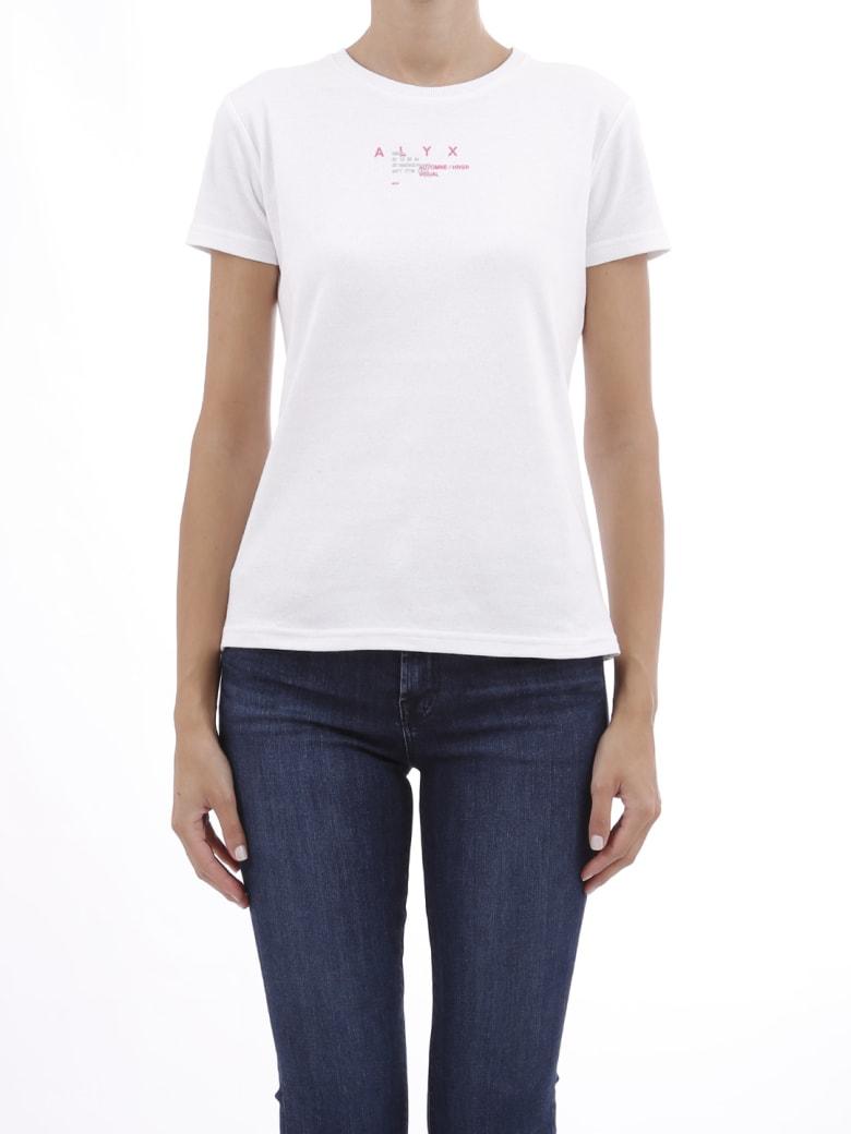 Alyx T-shirt White Cotton - White
