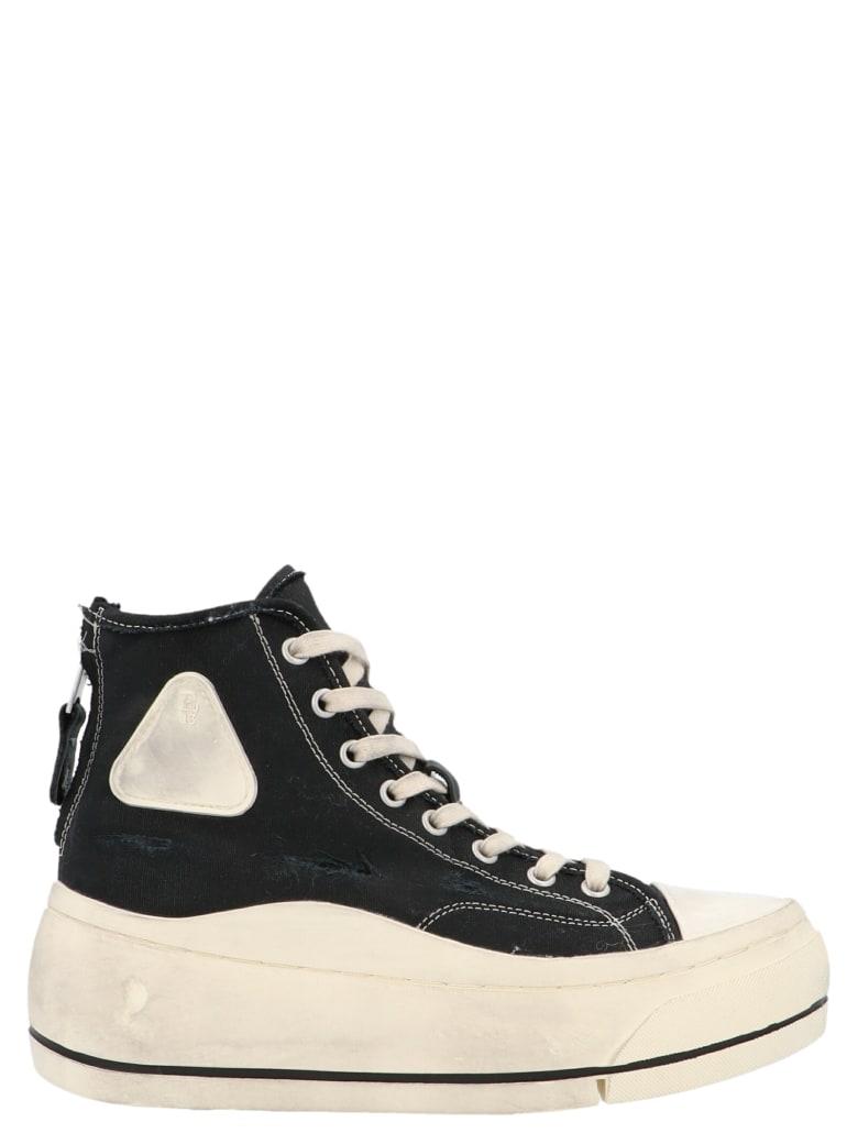 R13 'hi Top' Shoes - Black