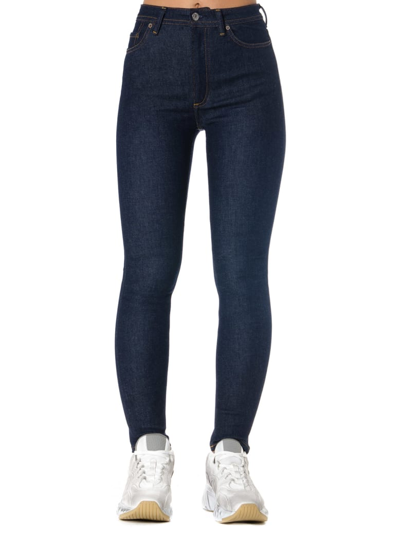 Acne Studios Denim Stretch Skinny Fit Jeans - Blue