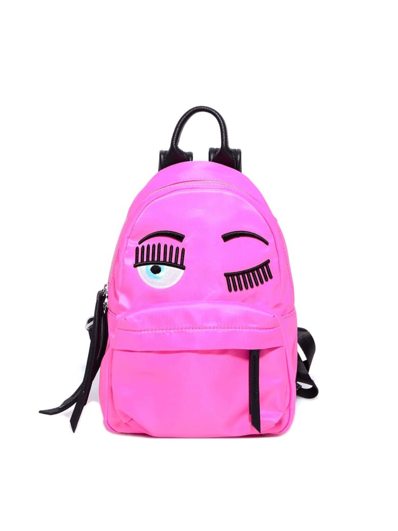 Chiara Ferragni Backpack Flirting Fluo Big - Pink