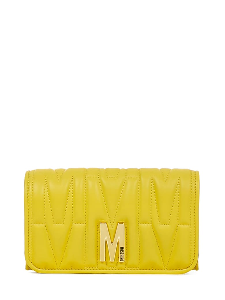 Moschino M Wallet - Yellow