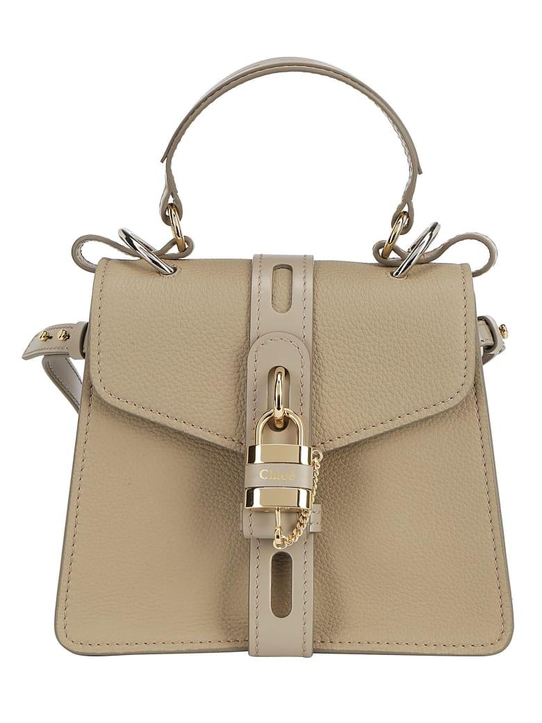 Chloé Small Day Shoulder Bag - Motty grey