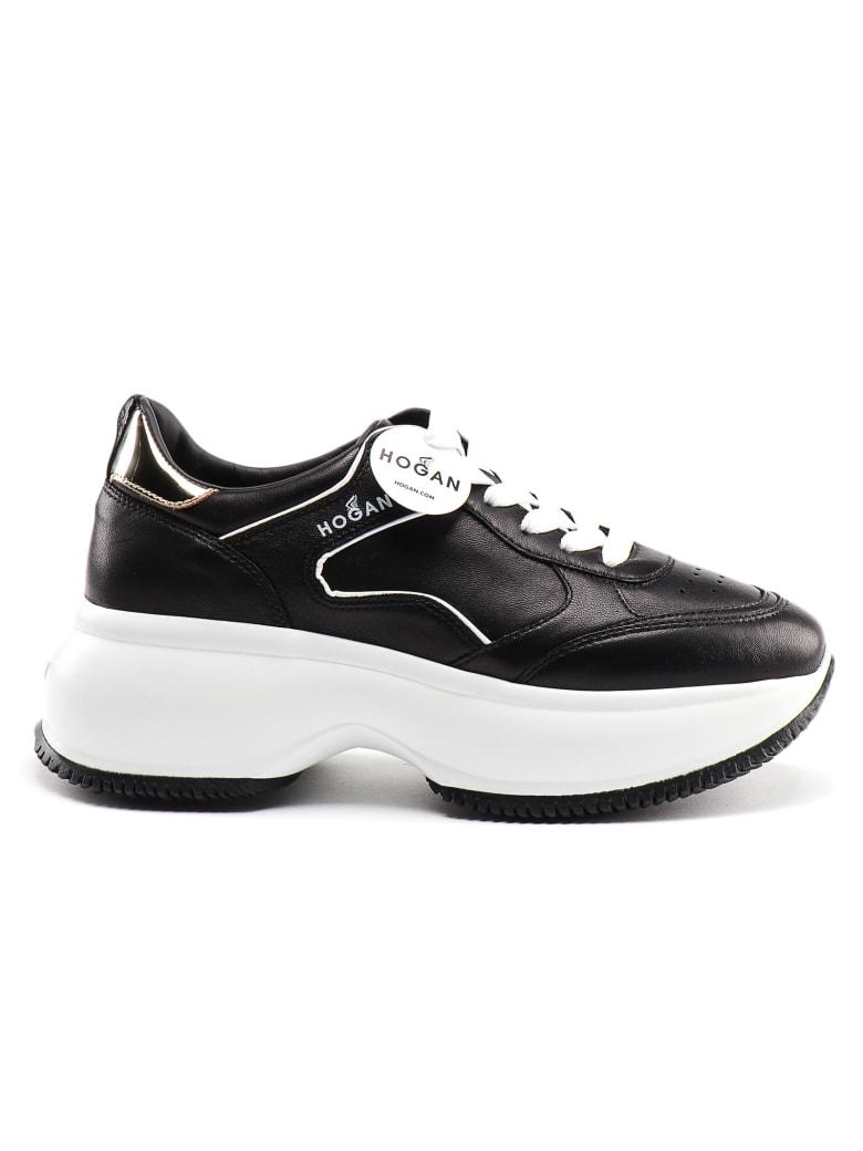 Hogan Maxi I Active Sneaker - D Nero+oro Vecchio
