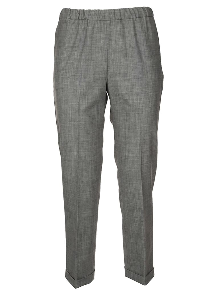 QL2 Cropped Trousers - Grey